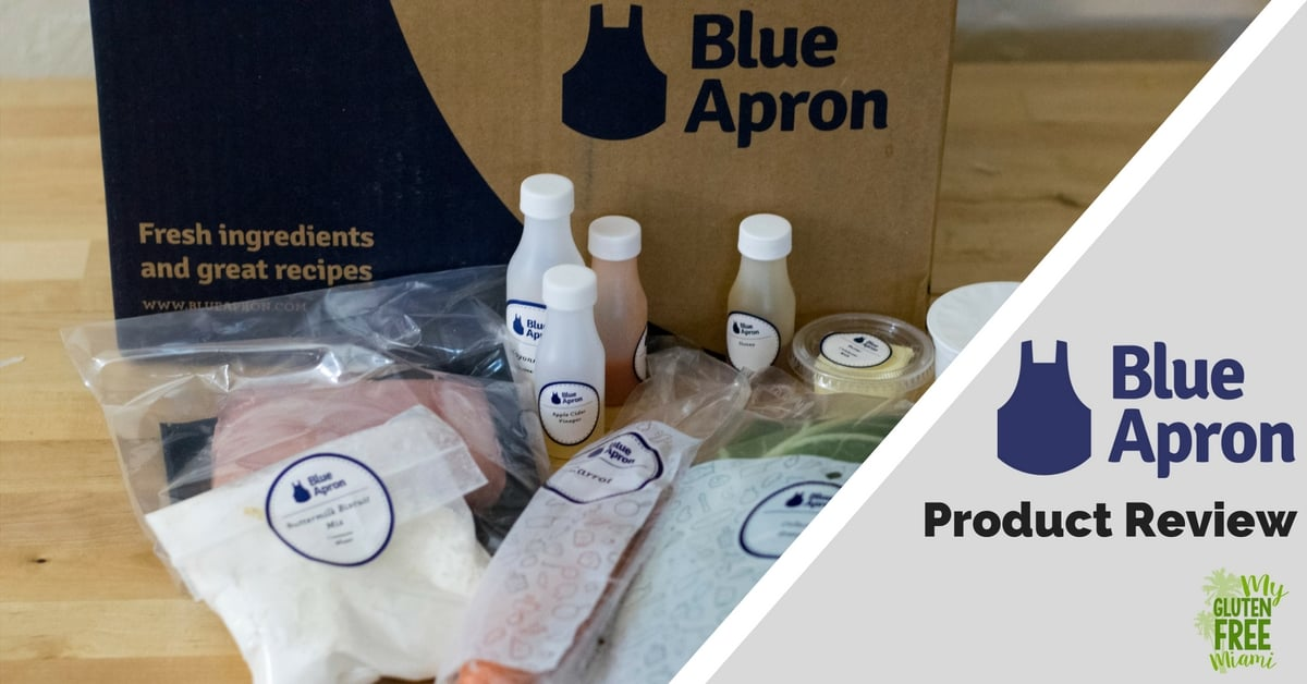 Blue Apron Review- Are Gluten Free Options Available?