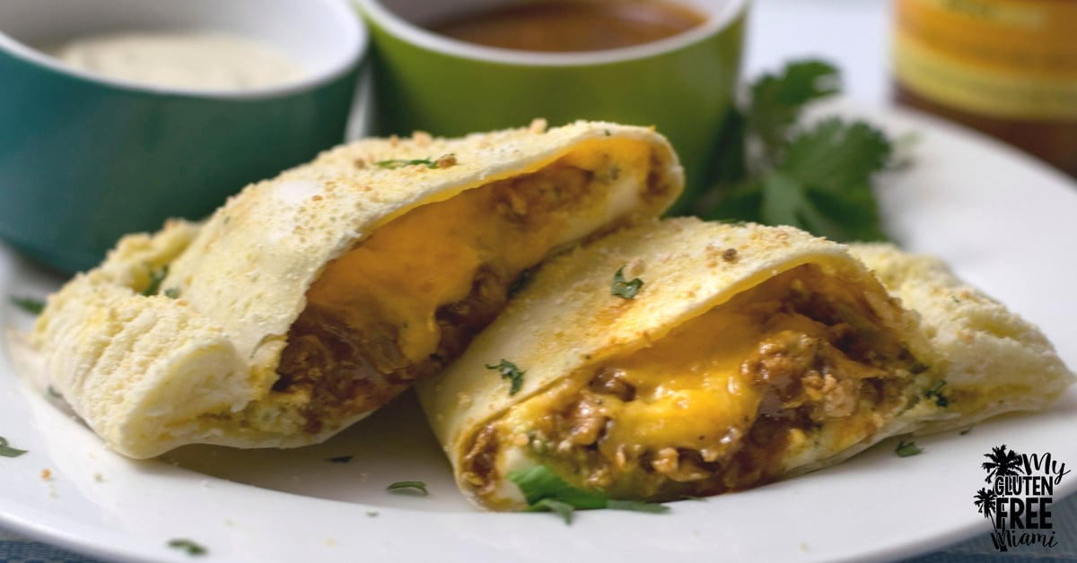 Gluten Free BBQ Chicken Calzones, Cheesy BBQ Chicken in ...