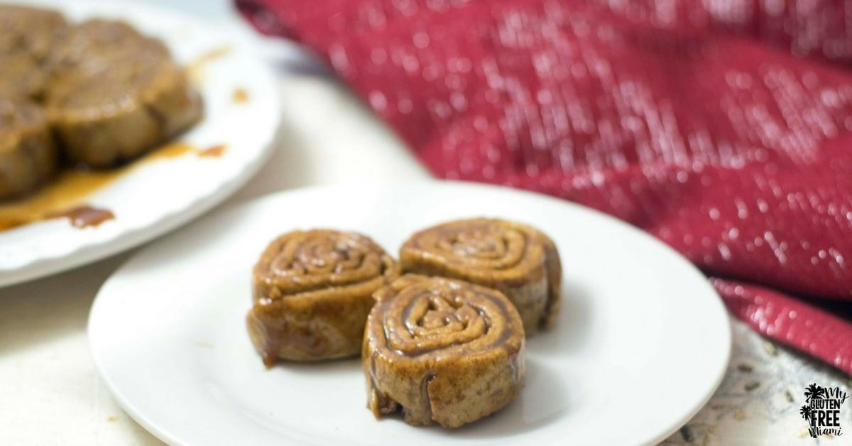 Ooey Gooey Cinnamon Rolls- Top 8 Allergen Free