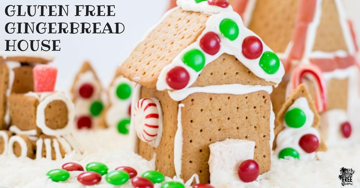 Easy Gluten Free Gingerbread Houses Christmas Bucket